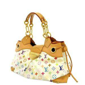 Louis Vuitton White/Multicolor Monogram Multicolore Canvas Ursula Bag