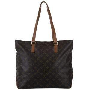 Louis Vuitton Monogram Canvas Cabas Mezzo Tote Bag