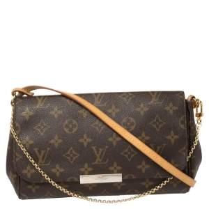 Louis Vuitton Monogram Canvas Favorite MM Bag