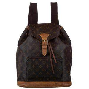 Louis Vuitton Monogram Canvas Montsouris Backpack Bag