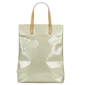 Louis Vuitton Green Monogram Vernis Reade MM Bag