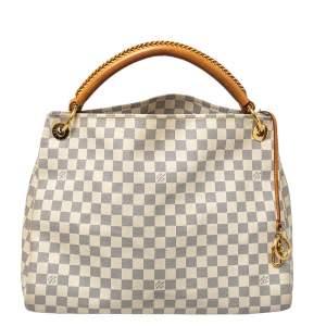 Louis Vuitton Damier Azur Canvas Artsy MM Bag