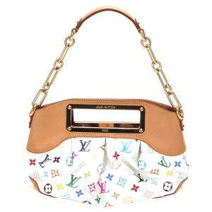 Louis Vuitton White/Multicolor Monogram Multicolore Canvas Judy PM Bag