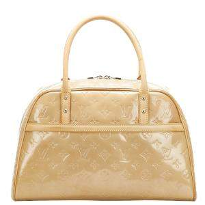 Louis Vuitton Brown Monogram Vernis Tompkins Square Bag