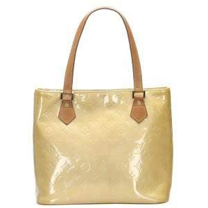Louis Vuitton Brown Monogram Vernis Houston Bag