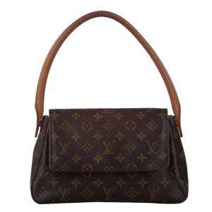 Louis Vuitton Monogram Canvas Looping Mini Bag