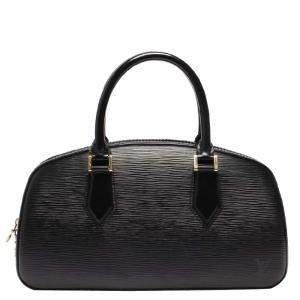 Louis Vuitton Noir Epi Leather Jasmin Bag