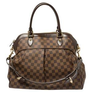 Louis Vuitton Damier Ebene Canvas Trevi GM Bag