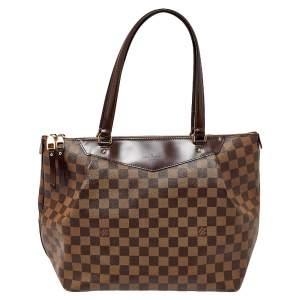 Louis Vuitton Damier Ebene Canvas Westminister GM Bag