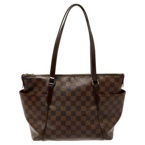 Louis Vuitton Damier Ebene Canvas Totally PM Bag