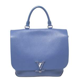 Louis Vuitton Denim Taurillon Leather Volta Bag