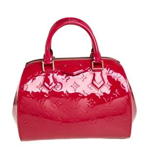 Louis Vuitton Indian Rose Monogram Vernis Montana Bag