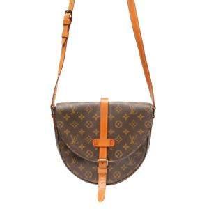 Louis Vuitton Brown Canvas Shanti GM Shoulder Bags