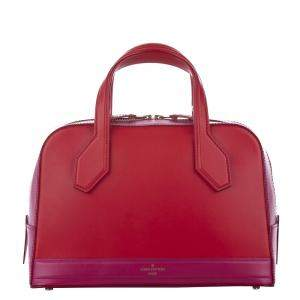 Louis Vuitton Red Leather Dora PM Bag