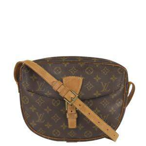 Louis Vuitton Monogram Canvas Jeune Fille Bag