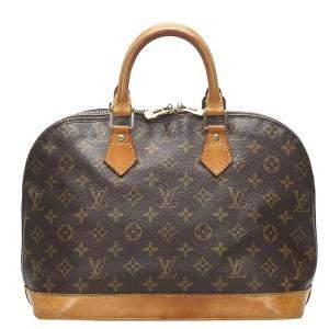 Louis Vuitton Monogram Canvas Alma PM Bag