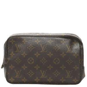 Louis Vuitton Monogram Canvas Trousse Toilette 28 Clutch