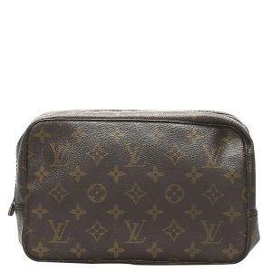 Louis Vuitton Monogram Canvas Trousse Toilette 28 Pouch