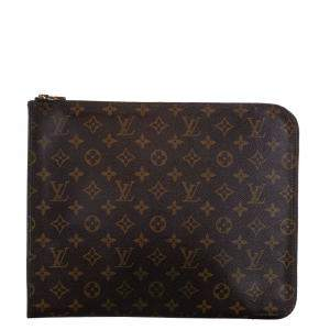 Louis Vuitton Monogram Canvas Poche Document Portfolio