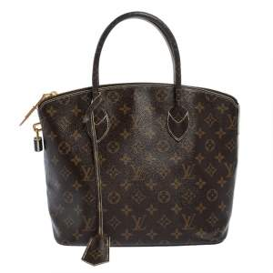 Louis Vuitton Monogram Canvas Limited Edition Fetish Lockit Bag