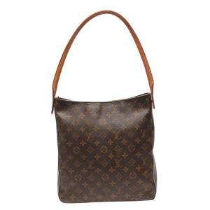 Louis Vuitton Brown Canvas  Looping GM Shoulder Bags