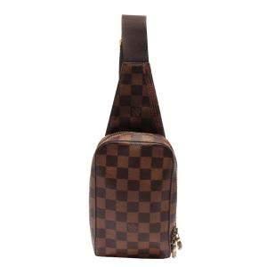 Louis Vuitton Brown Damier  Geronimos Belt Bag