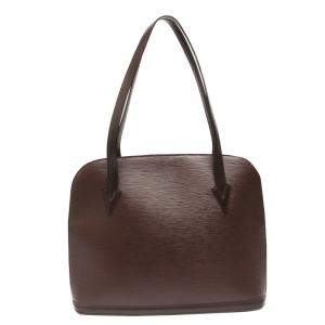 Louis Vuitton Brown Epi Leather Lussac Tote Bag