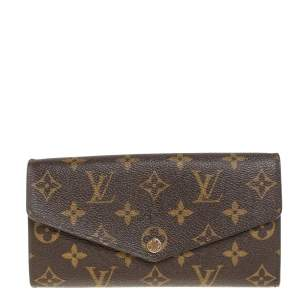 Louis Vuitton Monogram Canvas Sarah Wallet
