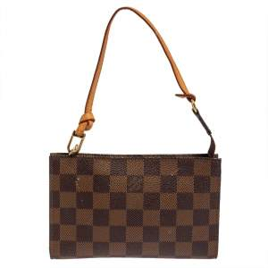 Louis Vuitton Damier Ebene Canvas Pochette