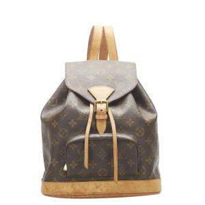Louis Vuitton Monogram Canvas Montsouris Mini Backpack