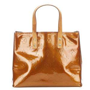 Louis Vuitton Brown Monogram Vernis Reade PM Bag