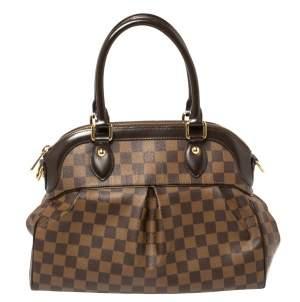 Louis Vuitton Damier Ebene Canvas Trevi PM Bag