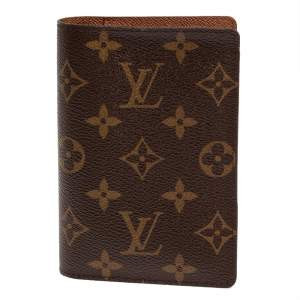 Louis Vuitton Monogram Canvas Passport Holder