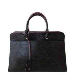 Louis Vuitton Black Epi Leather Vaneau GM Bag