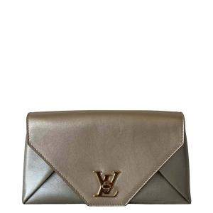 Louis Vuitton Metallic Leather Love Note Clutch