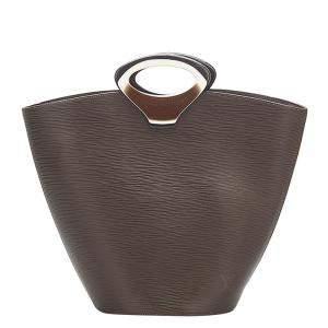 Louis Vuitton Brown/Dark Brown Epi Leather Noctambule Tote Bag