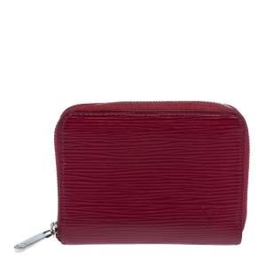 Louis Vuitton Fuchsia Epi Leather Zippy Coin Purse