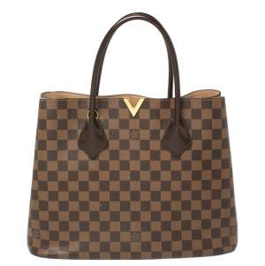 Louis Vuitton Damier Ebene Canvas Kensington V Bag