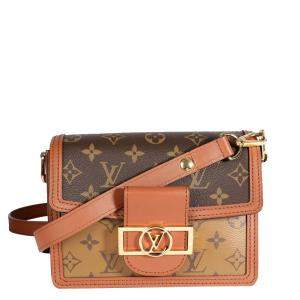 Louis Vuitton Monogram Reverse Canvas Mini Dauphine Bag