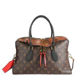 Louis Vuitton Monogram Canvas Tuileries Satchel Bag