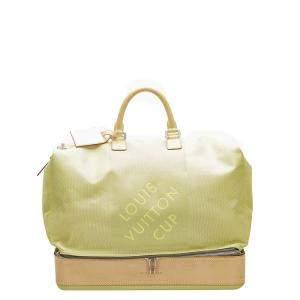 Louis Vuitton Green/Brown Damier Canvas Geant Southern Cross Travel Bag