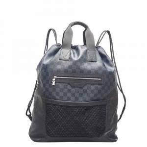 Louis Vuitton Damier Canvas Cobalt Matchpoint Hybrid Backpack