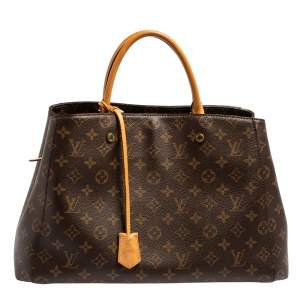 Louis Vuitton Monogram Canvas Montaigne GM Bag