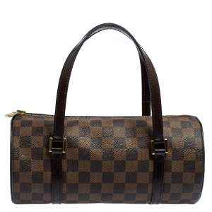 Louis Vuitton Damier Ebene Canvas Papillon 26 Bag