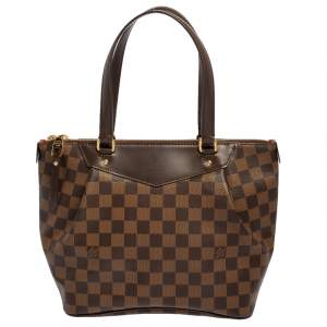 Louis Vuitton Damier Coated Canvas Westminster PM Tote