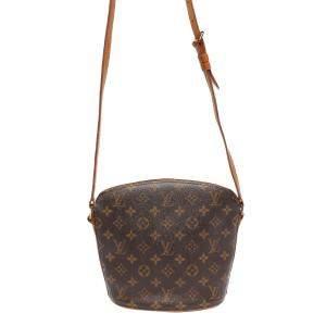 Louis Vuitton Brown Canvas  Drouot Shoulder Bags