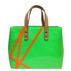Louis Vuitton Green Vernis Leather Robert Wilson Reade PM Bag