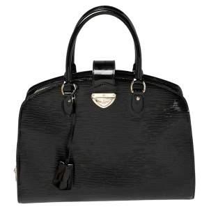 حقيبة لوي فيتون بون نوف جلد أيبي إليكتريك سوداء GM
