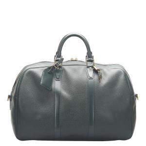 Louis Vuitton Green Taiga Leather Kendall PM Bag
