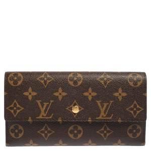 Louis Vuitton Monogram Canvas Porte-Tresor International Wallet